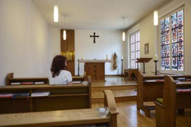 In der Hauskapelle - einfach mal zur Ruhe kommen