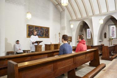 Gottesdienste und Impulse in der Hauskapelle