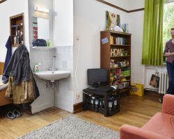 Zimmer im Deutschen Studentenheim